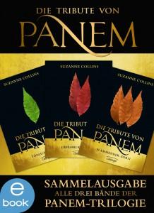 Cover - Panem-Trilogie - Copyright OETINGER VERLAG